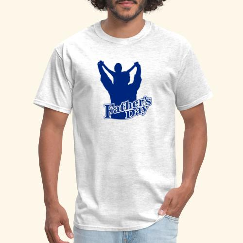 Fathers Day Child And Father Design - Men's T-Shirt