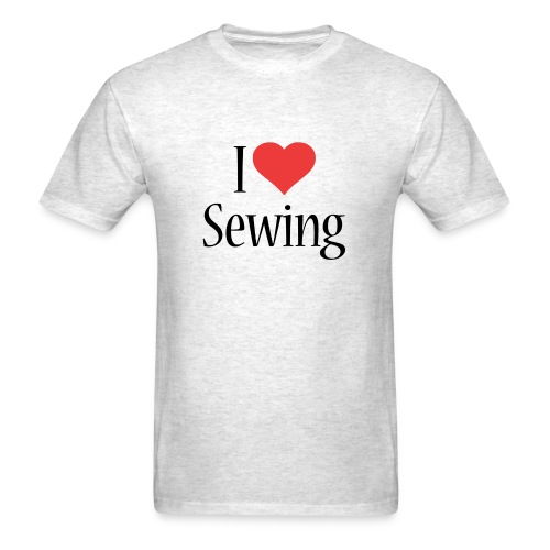 I Love Sewing - Men's T-Shirt