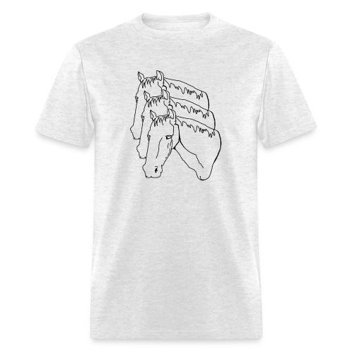 horsey pants - Men's T-Shirt