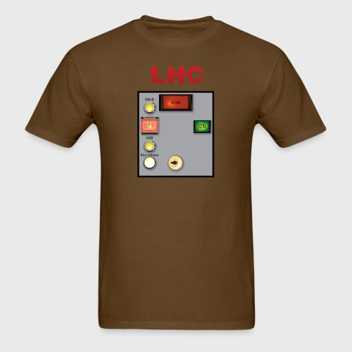 LHC Large Hadron Collider - Men's T-Shirt