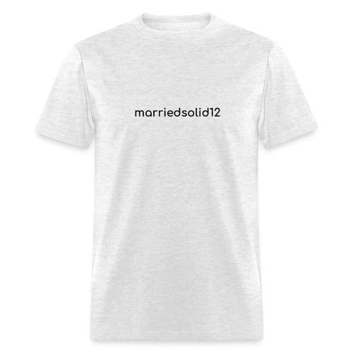 Basic MarriedSolid12 Design - Men's T-Shirt