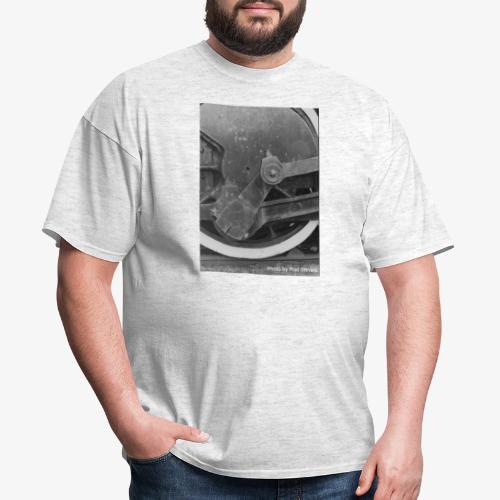 Steam Train Wheel - Men's T-Shirt