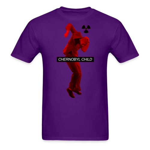CHERNOBYL CHILD RED - Men's T-Shirt