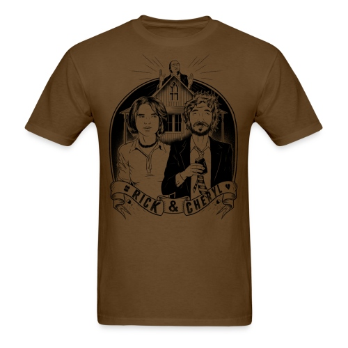 rick and cheryl WHITESHIRTSONLY - Men's T-Shirt