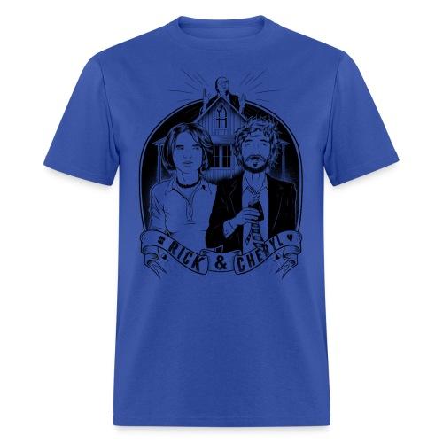 rick and cheryl WHITESHIRTSONLY - Men's T-Shirt