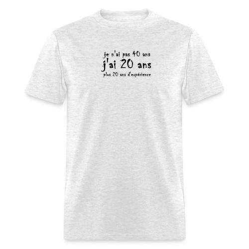 20 plus 20 copie - Men's T-Shirt