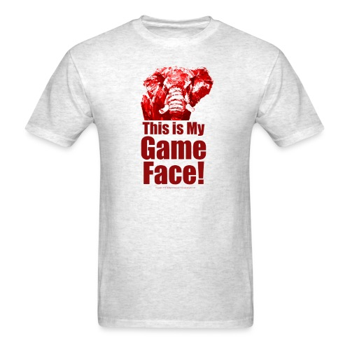 This my Game Face_revised - Men's T-Shirt