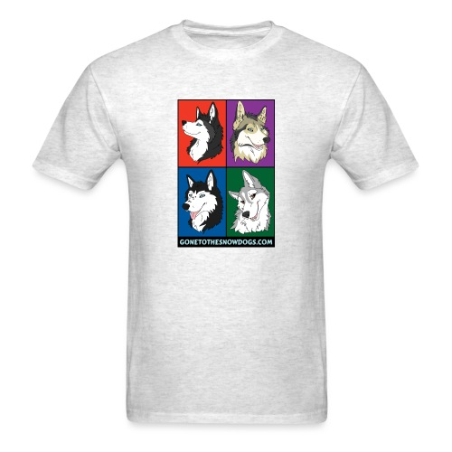 The Husky Girls - Men's T-Shirt