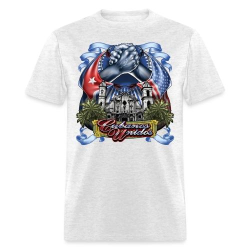 Cubanos Unidos by RollinLow - Men's T-Shirt