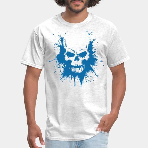 skull bones splash tshirt - Men's T-Shirt