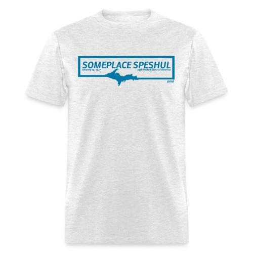 Someplace Speshul - Men's T-Shirt