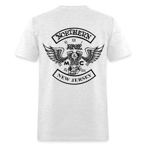 Northern Jersey MC Design png - Men's T-Shirt