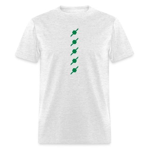 fivehex vector - Men's T-Shirt