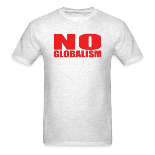 No Globalism F#ck Trudeau - Men's T-Shirt