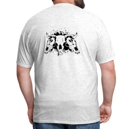 skull bull 3 - Men's T-Shirt