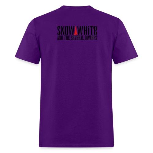 snow white logo bw - Men's T-Shirt