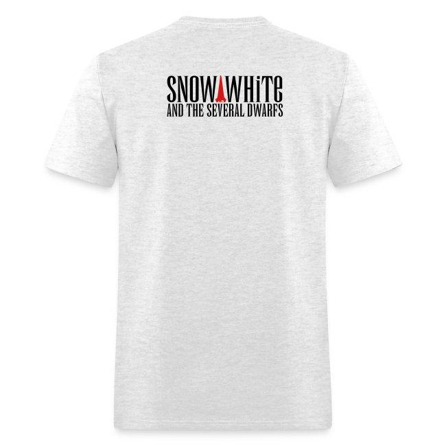 snow white logo bw