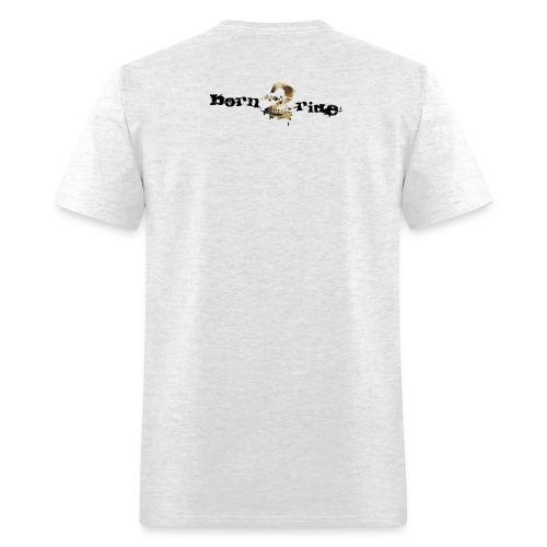 born2ride_300dpi - Men's T-Shirt
