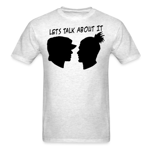 Let's Talk About It - Men's T-Shirt