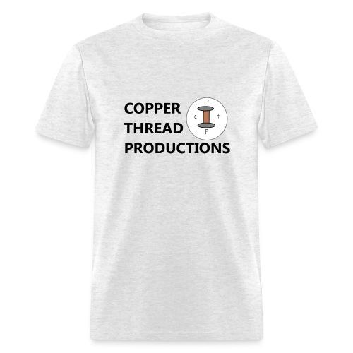 Copper Thread Logo - Men's T-Shirt