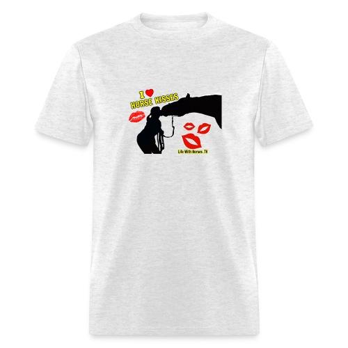 I LOVE HORSE KISSES T-Shirt - Men's T-Shirt
