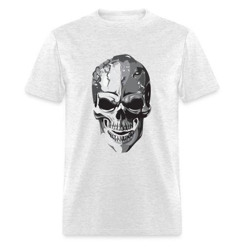 Silver Skull - Men's T-Shirt