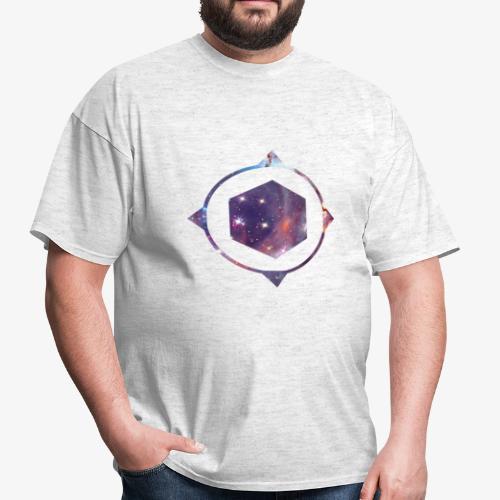 polygon space - Men's T-Shirt