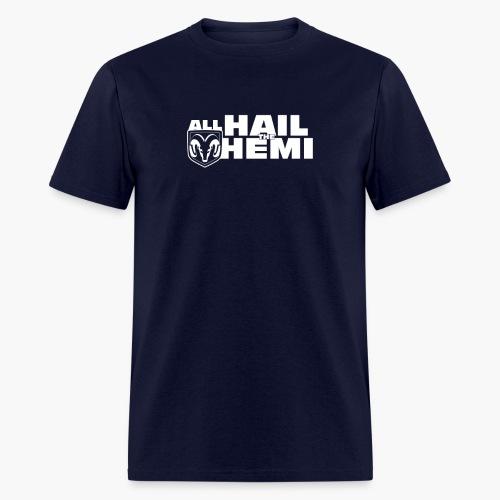 Hail Hemi (White) - Men's T-Shirt