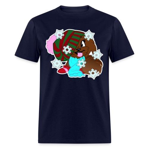 xmas snowflake - Men's T-Shirt