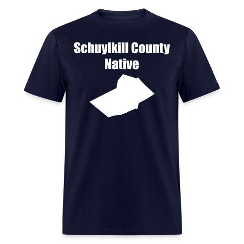 schuylkillcountynative png - Men's T-Shirt