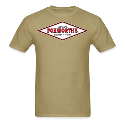 foxworthy diamond logo01 - Men's T-Shirt