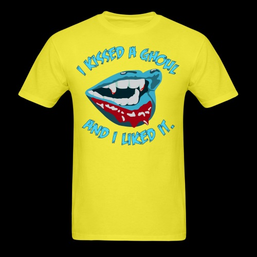 I kissed a ghoul - Men's T-Shirt