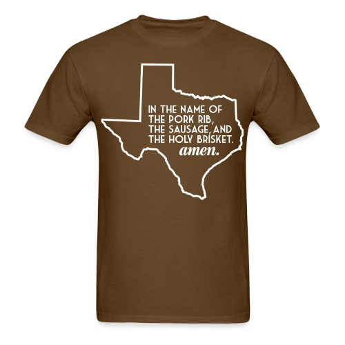 txbbqprayer 1 01 png - Men's T-Shirt