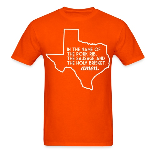 txbbqprayer 1 01 png - Men's T-Shirt