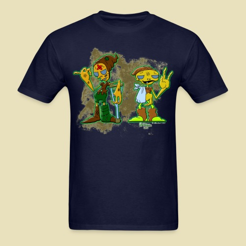 Ongher's UFO Hitchhiking Aliens - Men's T-Shirt
