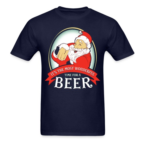 It's The Most Worderful Time For A Beer - Men's T-Shirt