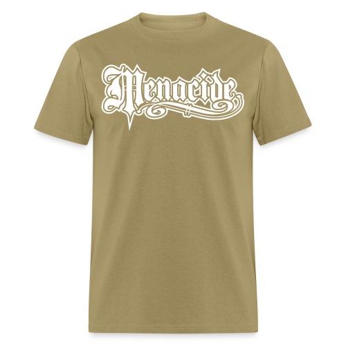 Menacide Tee Front - Men's T-Shirt