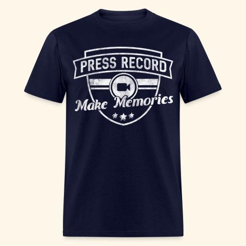 pressrecord_makememories2 - Men's T-Shirt