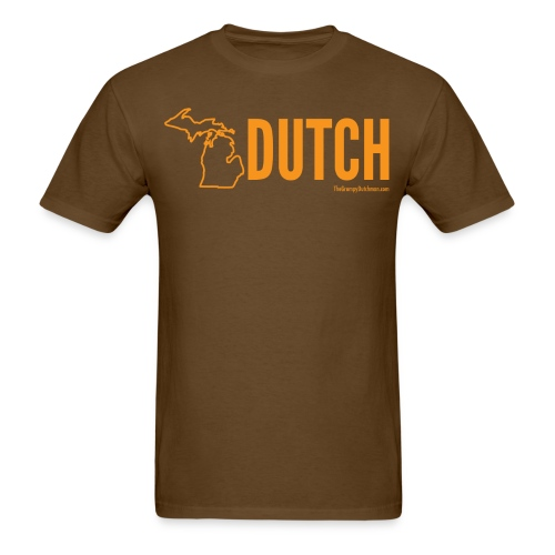 Michigan Dutch (orange) - Men's T-Shirt