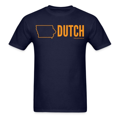 Iowa Dutch (orange) - Men's T-Shirt