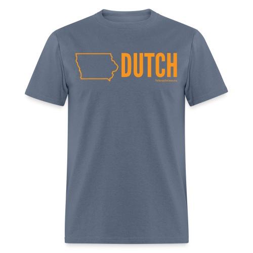 Iowa Dutch (orange) - Men's T-Shirt