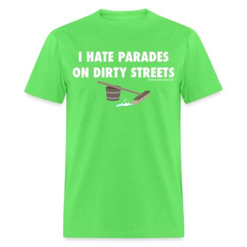 13 Parades white lettering - Men's T-Shirt