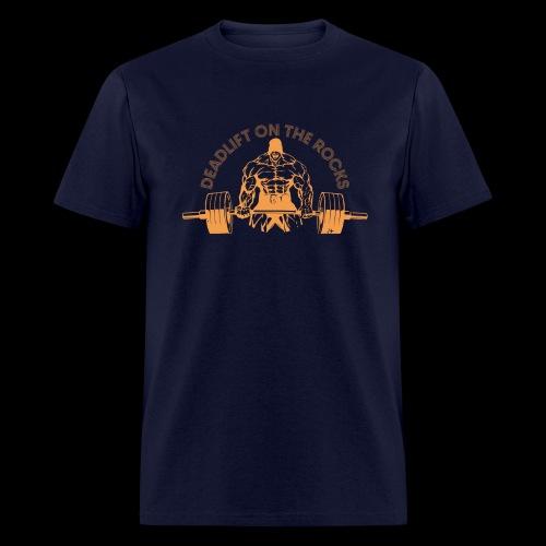 ORANGE ON THE ROCKS - Men's T-Shirt
