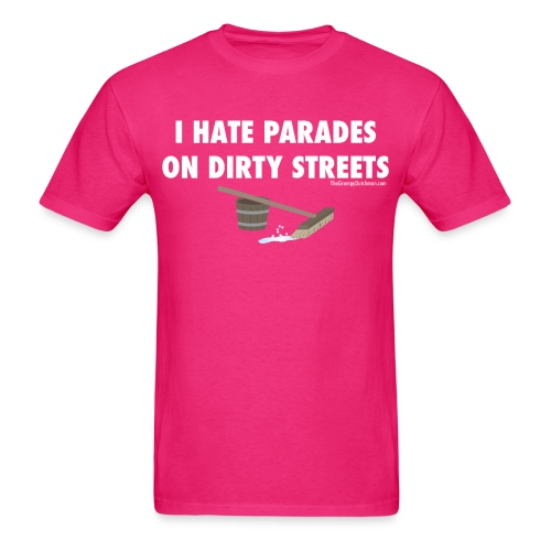 13 Parades white lettering - Men's T-Shirt