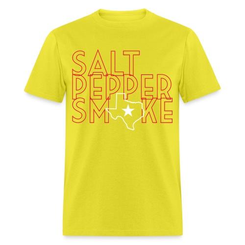 saltpeppersmoke 2 01 png - Men's T-Shirt