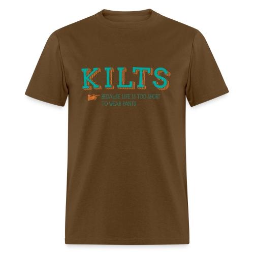kilts colour - Men's T-Shirt