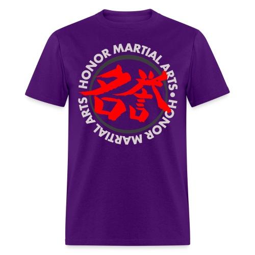 Honor Martial Arts Kanji Design Light Shirts - Men's T-Shirt