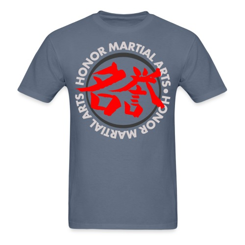 Honor Martial Arts Kanji Design Light Shirts - Men's T-Shirt