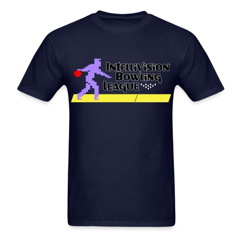 Intellivision Bowling League - Men's T-Shirt
