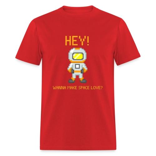 spacelove2 png - Men's T-Shirt